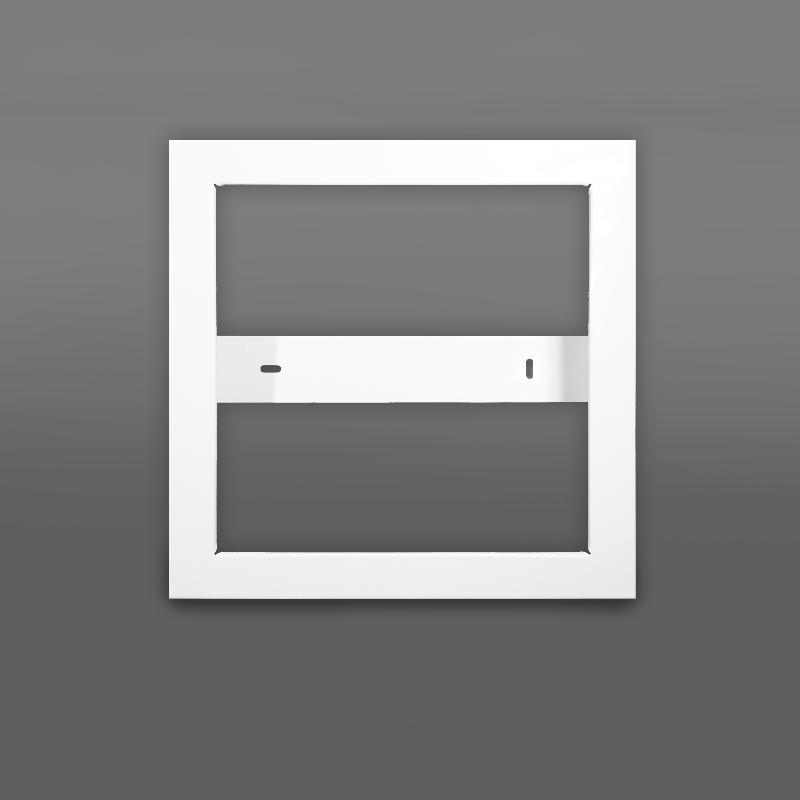 Aufbaurahmen für LED Panels 30 x 30 cm - weiß, Wir sind heller Shop ...