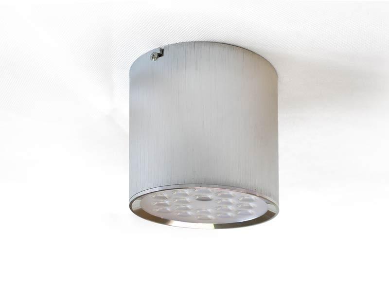 r led aufbau downlight tsd18 03 19w 2160 lumen silber. Black Bedroom Furniture Sets. Home Design Ideas