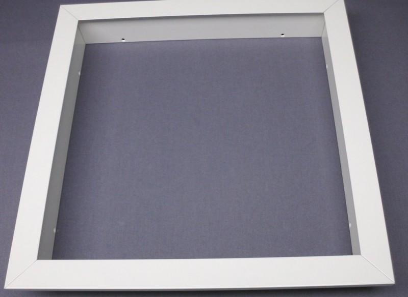 einbaurahmen f r led panels 30 x 30 cm wei 28 69. Black Bedroom Furniture Sets. Home Design Ideas