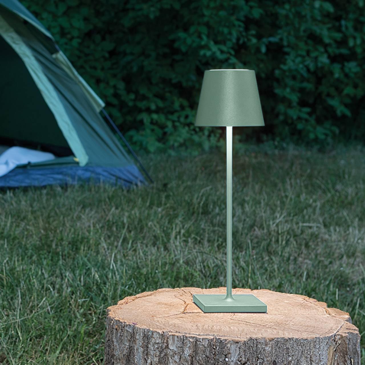 LED Akku Tischleuchte Outdoor