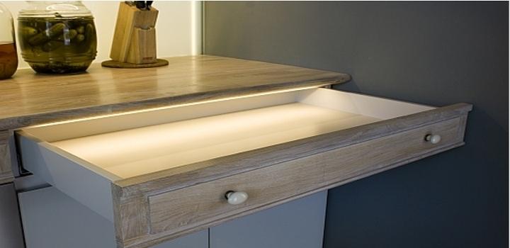 LED-Profile-Anwendung-Aussehen-Schublade